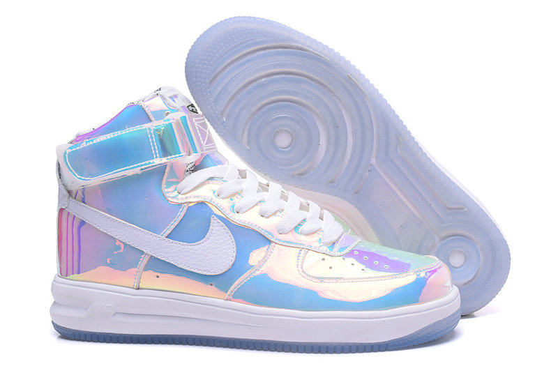 watch 1b611 d9817 Cheap Wholesale Nike Air Force 1 High AF1 Mens Blue Pink White