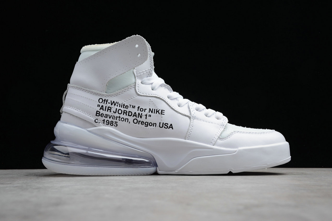 Wholesale Cheap Nike Air Jordan 1 OFF-WHITE Air Max 270 NRG AQ0818-100 White Blanc