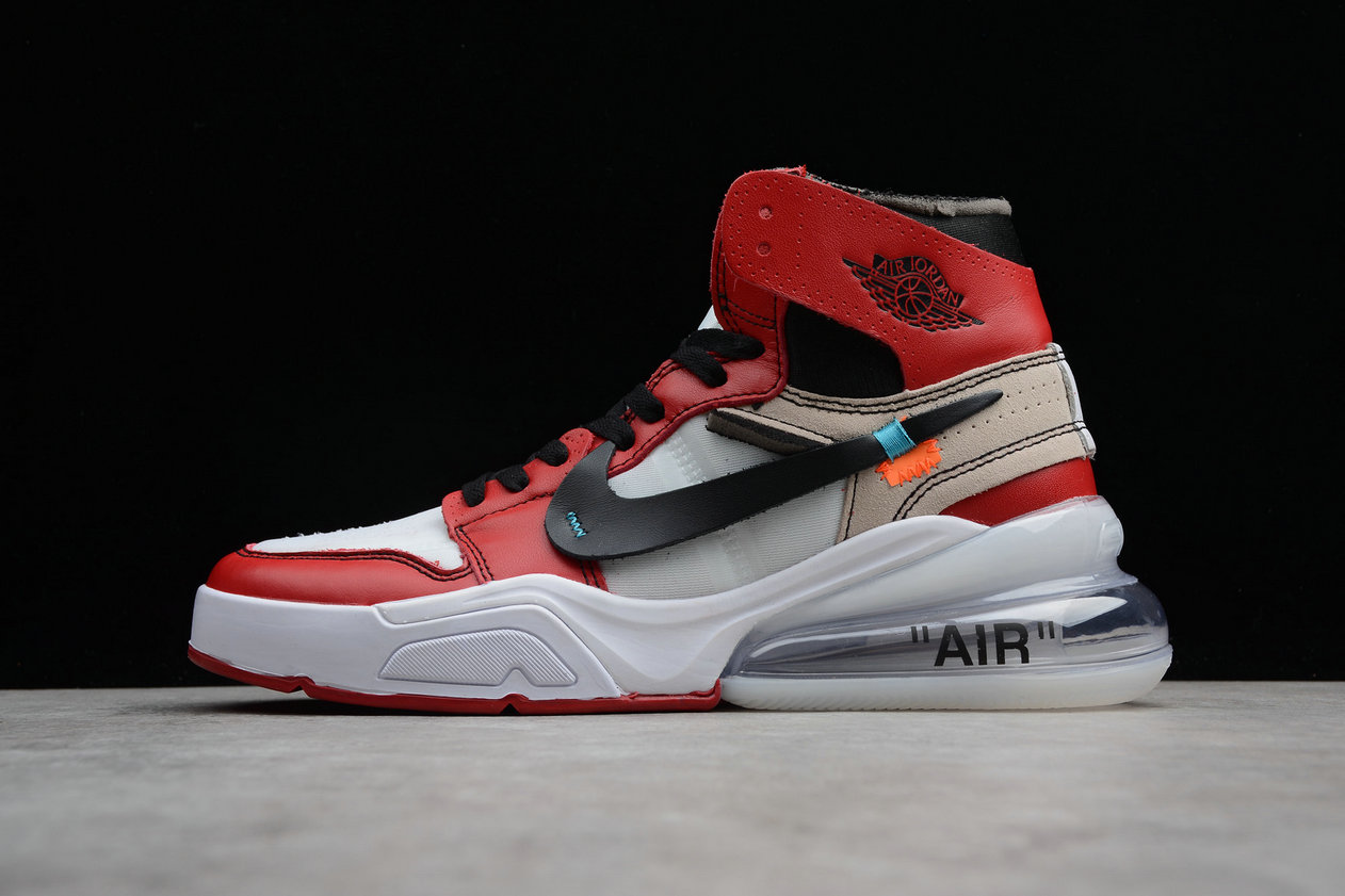 revendeur a628d 169d7 Wholesale Cheap Nike Air Jordan 1 x OFF-WHITE NRG Red Rice ...