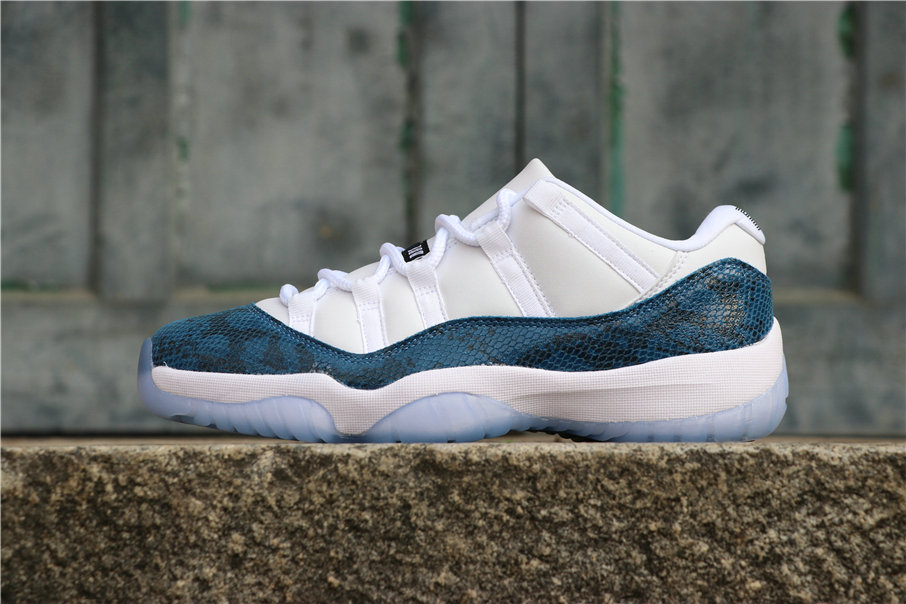 Wholesale Cheap Nike Air Jordan 11 Navy Blue Snakeskin CD6846-102