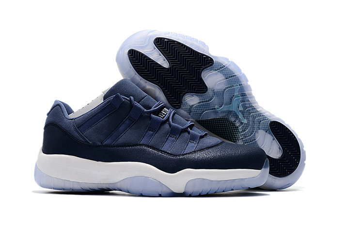 Cheap Wholesale Nike Air Jordan 11 XI Low GS Blue Moon
