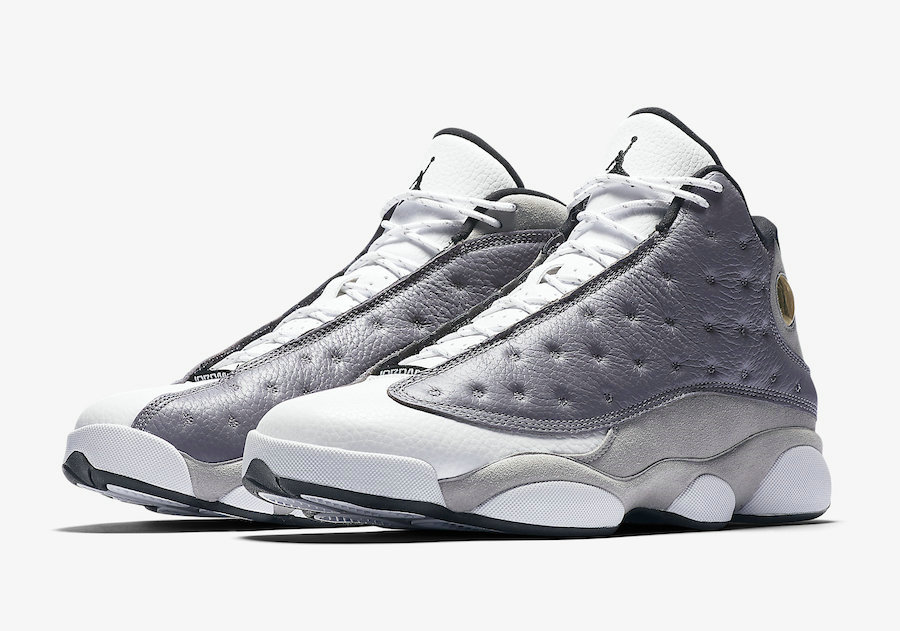Wholesale Cheap Nike Air Jordan 13 414571-016 Atmosphere Grey White-University Red-Black