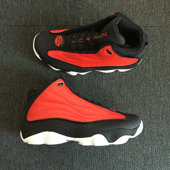 Wholesale Cheap Nike Air Jordan 13.5 Pro Strong University Red Black White