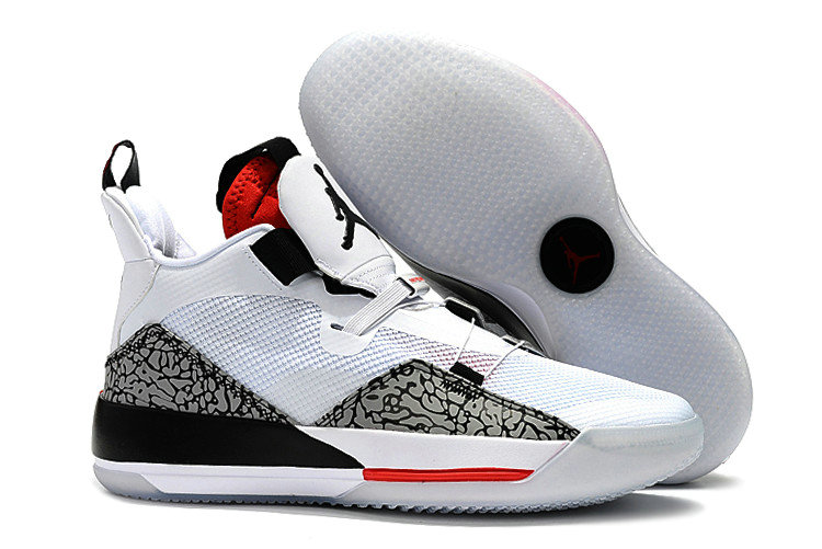 Wholesale Cheap Nike Air Jordan 33 Fire Red White Fire Red-Black For Sale