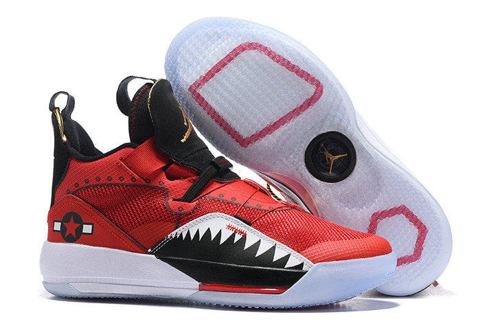 Wholesale Cheap Nike Air Jordan 33 Future of Flight Red Black-White For Sale