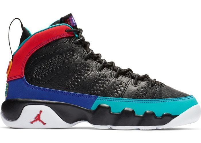 Wholesale Cheap Nike Air Jordan 9 Retro Dream It Do It Black University Red-Dark Concord 302370-065