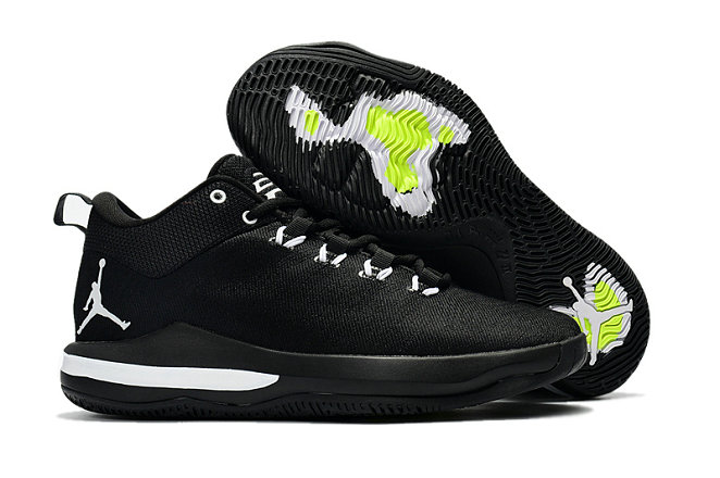 Cheap Wholesale Nike Air Jordan CP3 X Black Green White