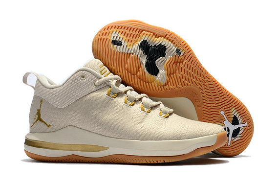 Cheap Wholesale Nike Air Jordan CP3 X Gold Light Beige