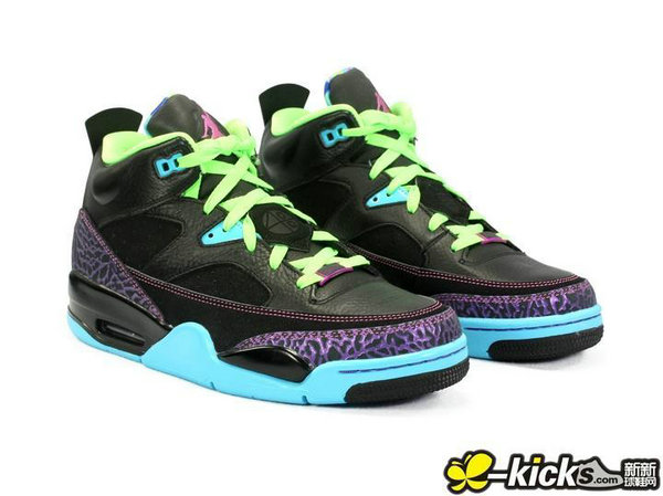 Cheap Wholesale Nike Air Jordan Son Of Low Green Purple Black Blue