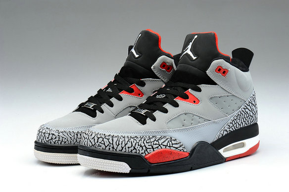 Cheap Wholesale Nike Air Jordan Son Of Low Grey Orange Black