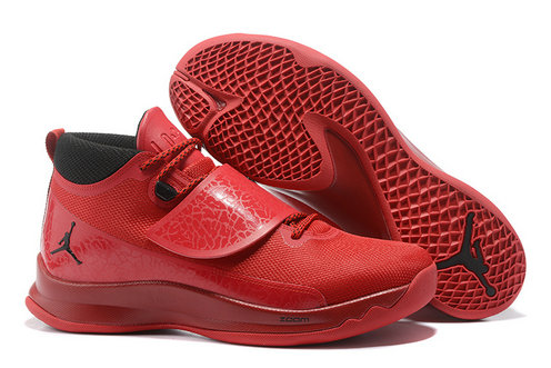 Cheap Wholesale Nike Air Jordan Super.Fly 5 Red Black