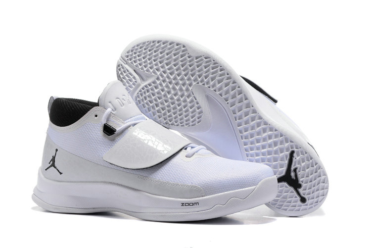 Cheap Wholesale Nike Air Jordan Super.Fly 5 White Black