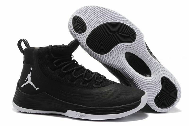 Cheap Wholesale Nike Air Jordan Ultra Fly 2 Black White
