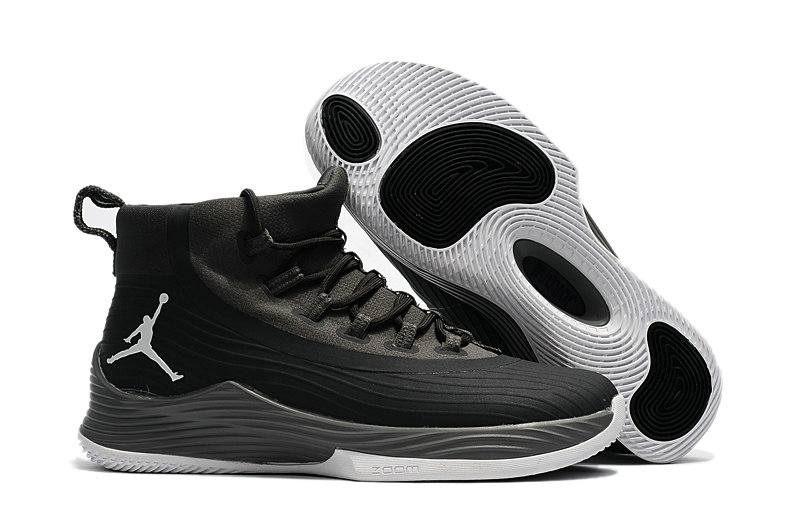 Cheap Wholesale Nike Air Jordan Ultra Fly 2 Grey Black White