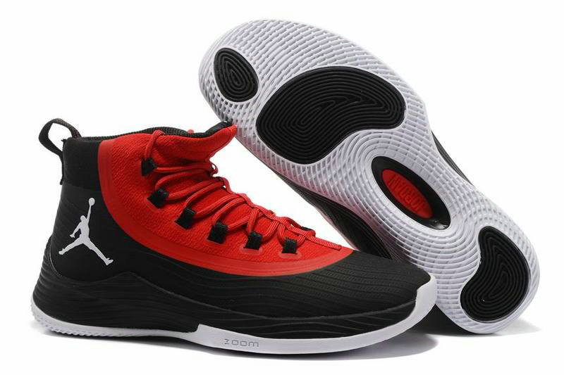 Cheap Wholesale Nike Air Jordan Ultra Fly 2 Red Black White