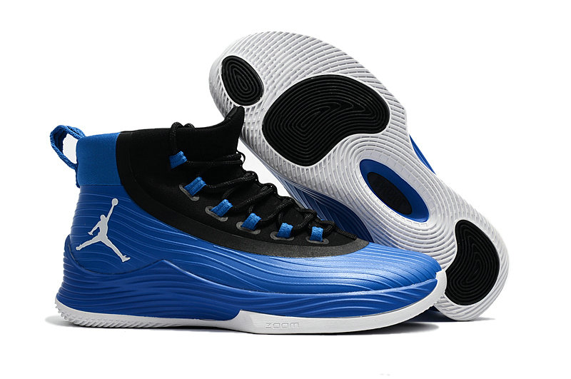Cheap Wholesale Nike Air Jordan Ultra Fly 2 Royalblue Black White