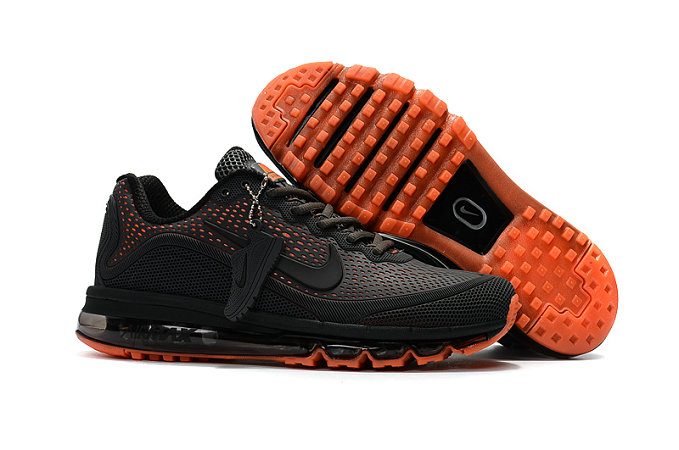 Cheap Wholesale Nike Air Max 2017 Charcoal Gray Orange