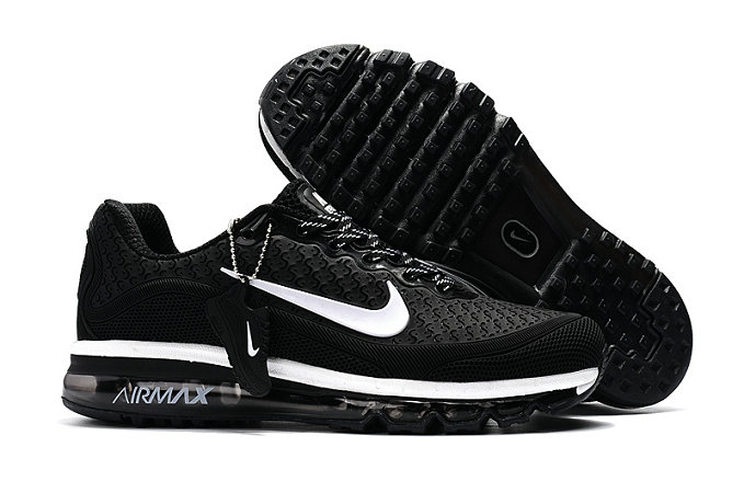 Cheap Wholesale Nike Air Max 2017 Mens Rubber Patch White Black