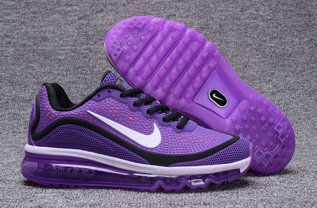 Cheap Wholesale Nike Air Max 2017 Nanometer Womens Purple Black White