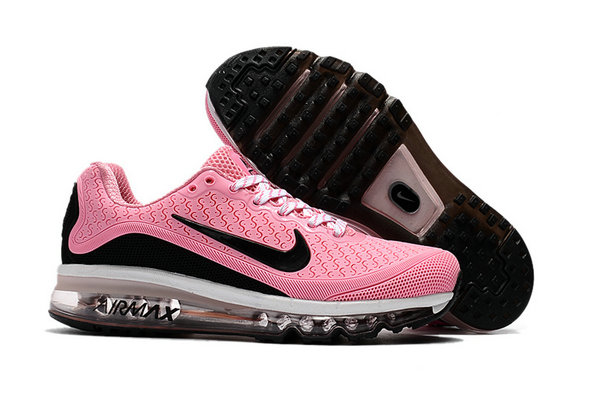 Cheap Wholesale Nike Air Max 2017 Womens Rubber Patch Pink White Black