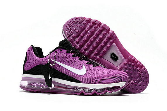 Cheap Wholesale Nike Air Max 2017 Womens Rubber Patch Purple White Black