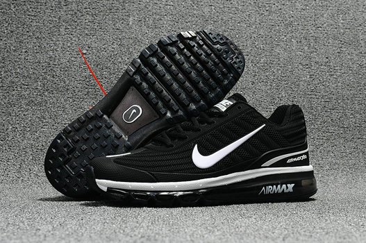 Cheap Wholesale Nike Air Max 2017 x 360 Fusion Black White