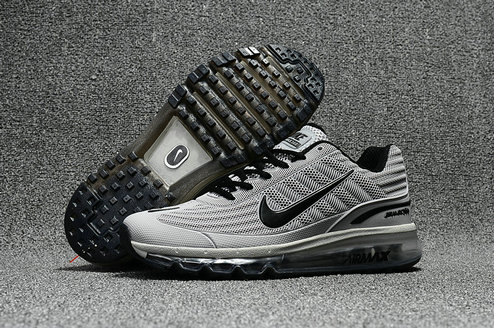 Cheap Wholesale Nike Air Max 2017 x 360 Fusion Grey Black