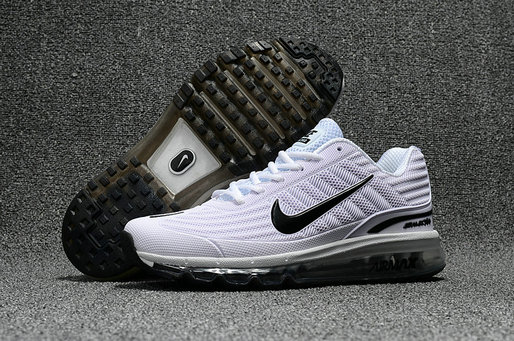 Cheap Wholesale Nike Air Max 2017 x 360 Fusion White Black