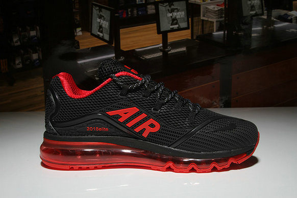 Cheap Wholesale Nike Air Max 2018 Elite Red Black
