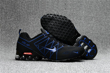 Cheap Wholesale Nike Air Max 2018 Ultra Zoom Blue Black Running Shoes