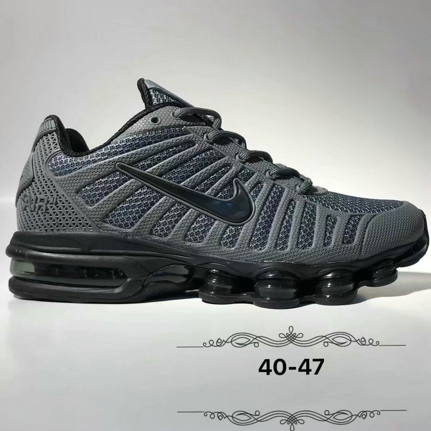 Wholesale Cheap Nike Air Max 2019 Cushion Mens Black Deep Grey