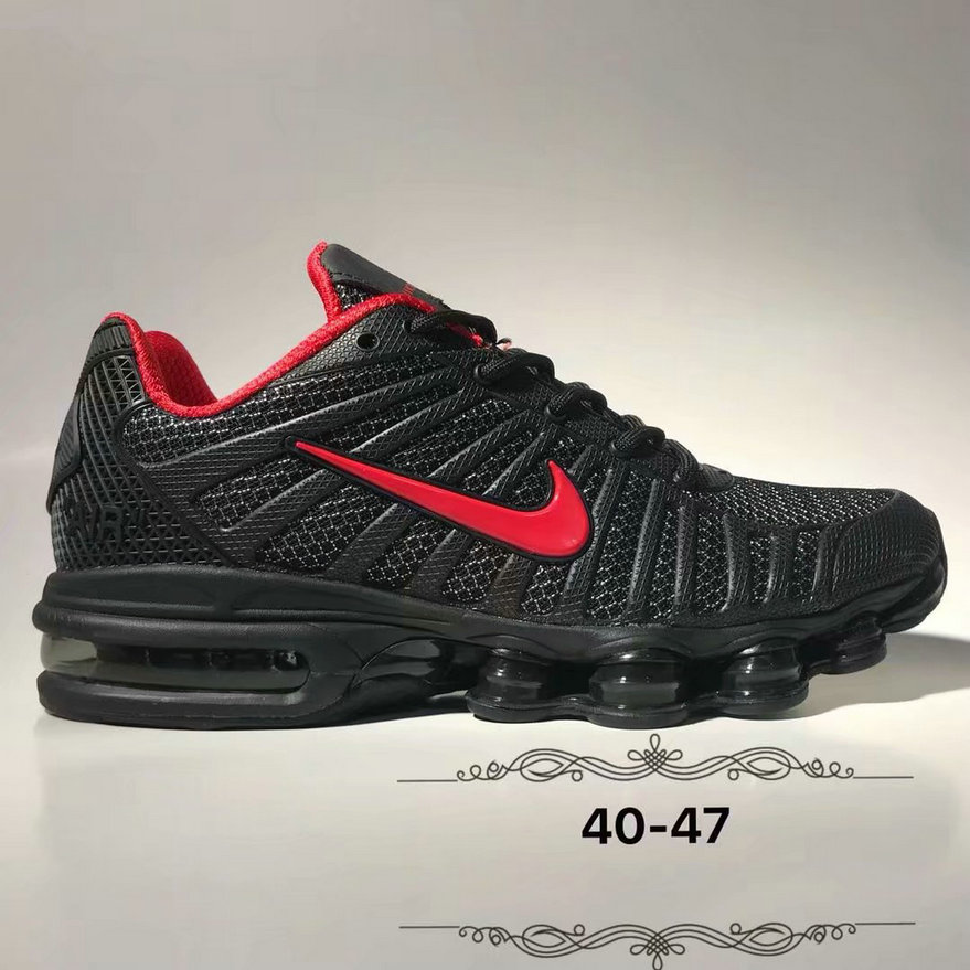 Wholesale Cheap Nike Air Max 2019 Cushion Mens Fire Red Black