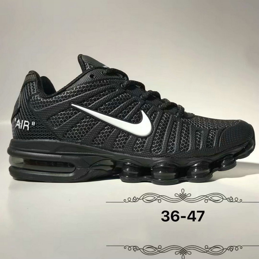 Wholesale Cheap Nike Air Max 2019 Cushion Mens OFF WHITE Black White