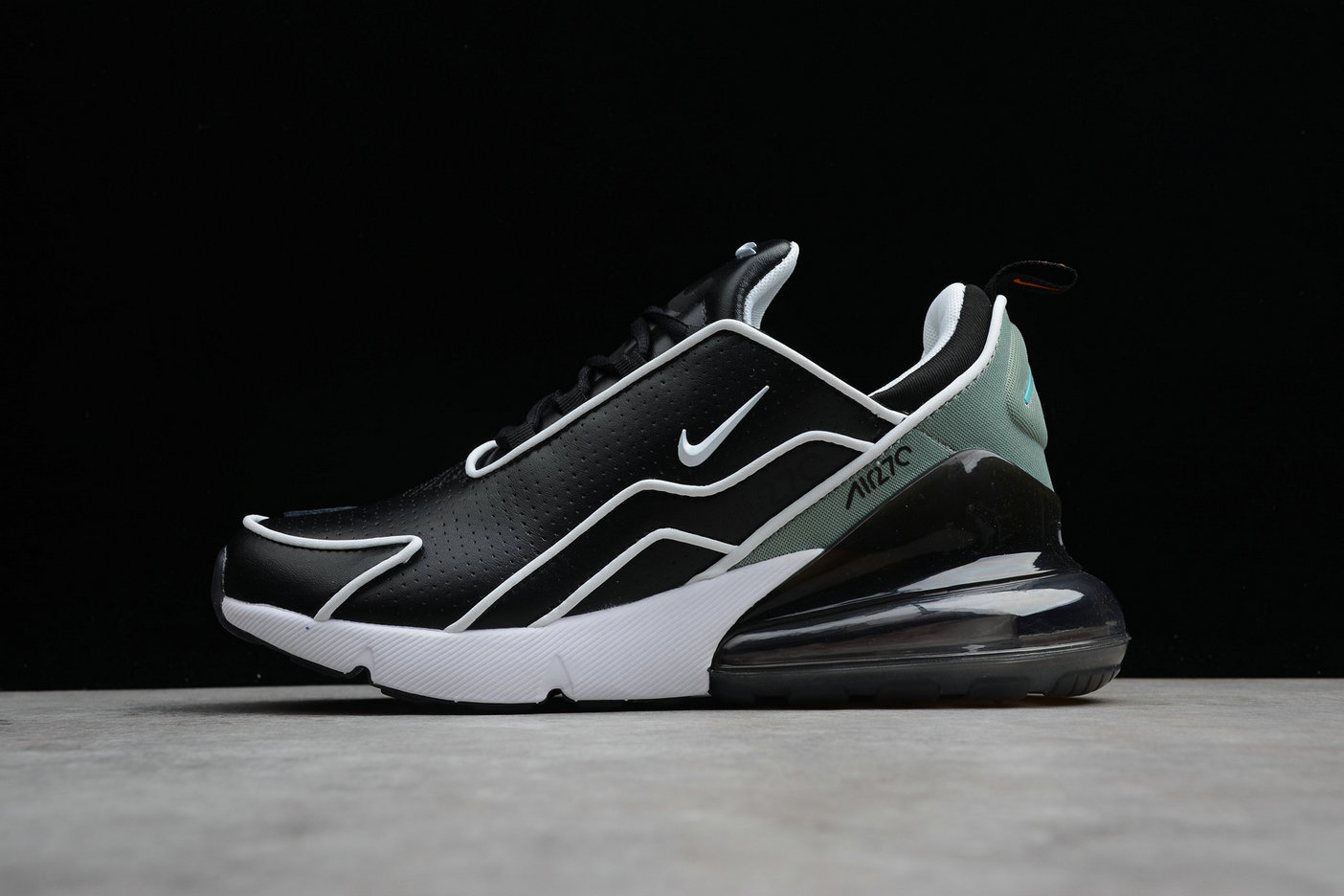 Wholesale Cheap Nike Air Max 270 Flyknit AH8060-001 Black Charcoal Noir Charbon