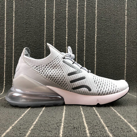 hot sale online 0cb2b 63cfe Wholesale Cheap Nike Air Max 270 Flyknit AO1023-003 Pure ...