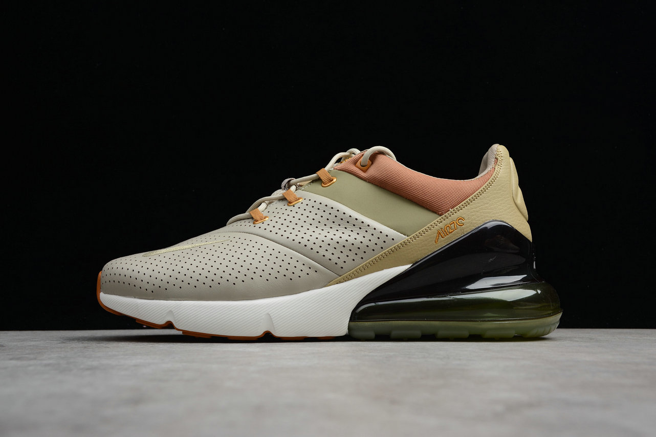 Wholesale Cheap Nike Air Max 270 Premium AO8283-200 Running Shoes String Desert Ochre Ficelle Ocre DU Desert