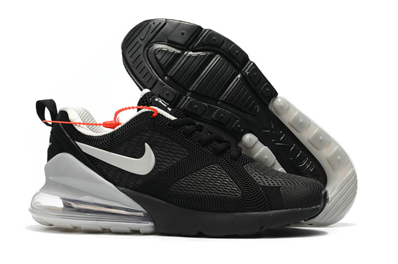 brand new 3ee16 0fc24 Wholesale Cheap Nike Air Max 270 Running Shoes Rubber Label Cool Grey Black