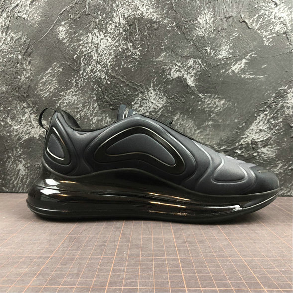 Wholesale Cheap Nike Air Max 720 Black-Black-Noir-Noir AR9293-00