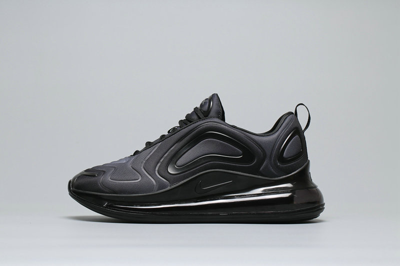 Wholesale Cheap Nike Air Max 720 Black Grey Gradual Change Noires AR9293-003