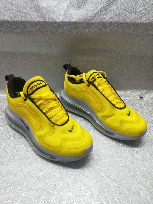 Wholesale Cheap Nike Air Max 720 New Arrival In Yellow Black