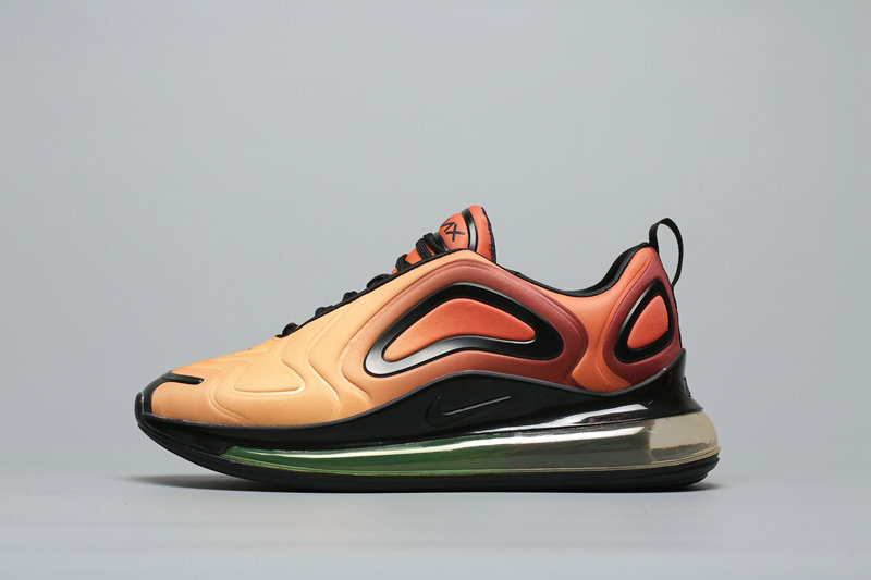 Wholesale Cheap Nike Air Max 720 Orange Gradual Change Oranger A02924-800