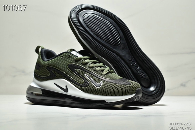 Wholesale Cheap Nike Air Max 720 PRM Army Green Black White