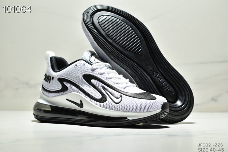Wholesale Cheap Nike Air Max 720 PRM Black White
