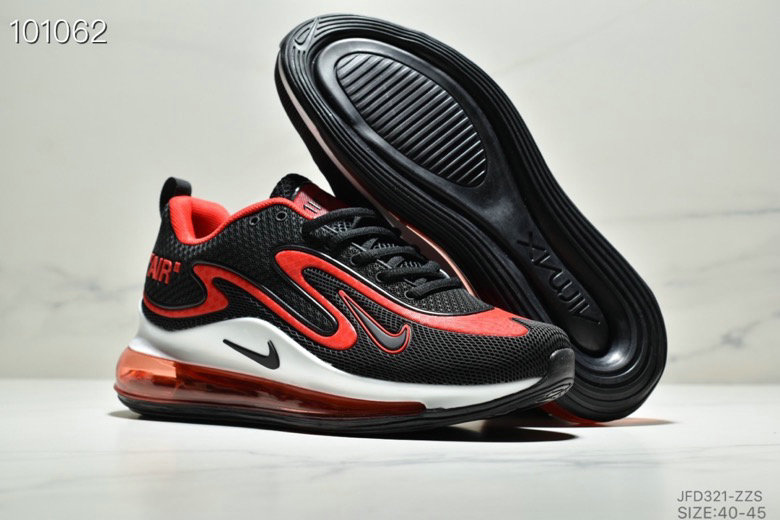 Wholesale Cheap Nike Air Max 720 PRM Black White University Red