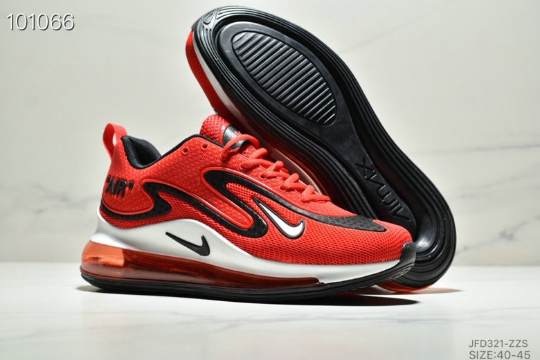Wholesale Cheap Nike Air Max 720 PRM Fire Red Black White