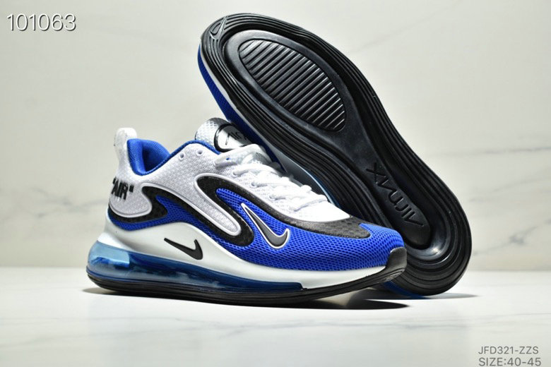 Wholesale Cheap Nike Air Max 720 PRM Royal Blue White Black