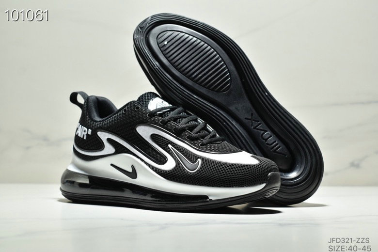 Wholesale Cheap Nike Air Max 720 PRM White Black