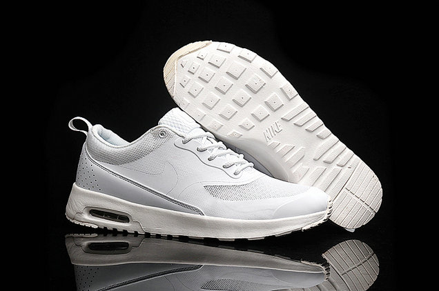 Cheap Wholesale Nike Air Max 87 Womens All White Running Shoes