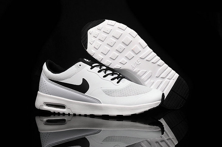 Cheap Wholesale Nike Air Max 87 Womens Black White Running Shoes