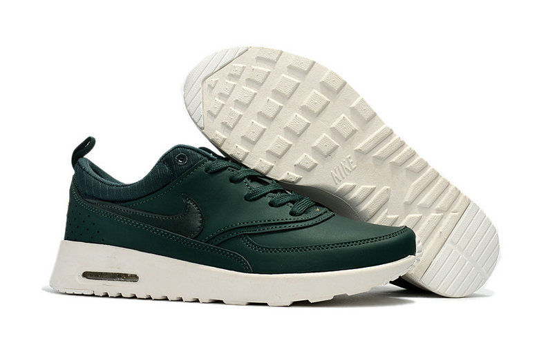 Cheap Wholesale Nike Air Max 87 Womens Leather Army Green White